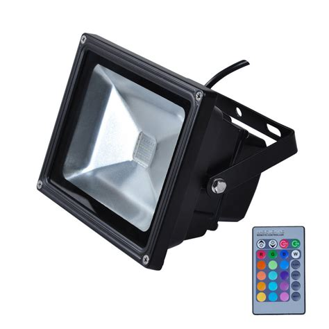 remote control flood lights sale ip65 waterproof 10w rgb led flood light outdoor