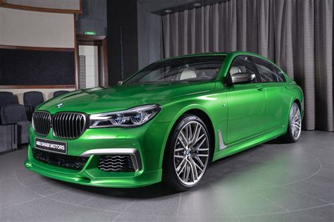 Rallye Green Bmw M760li Xdrive Looks Really Good