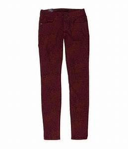 Bullhead Denim Co Womens Leopard Print Skinny Fit Jeans