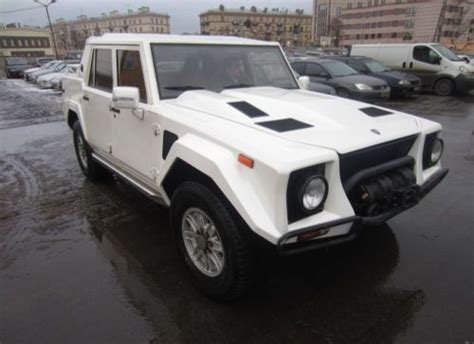 Purchase Used 1990 Lamborghini Lm002 White In Saint