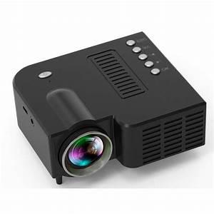 Mini Portable 1080p Projector Led Micro Mobile Phone