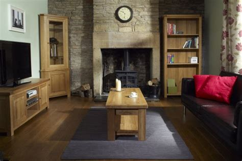 Charltons Bretagne Oak Natural Lacquered Painted Living