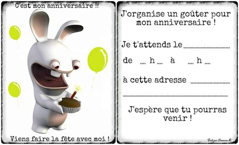 Carte Invitation Anniversaire Garçon 7 Ans