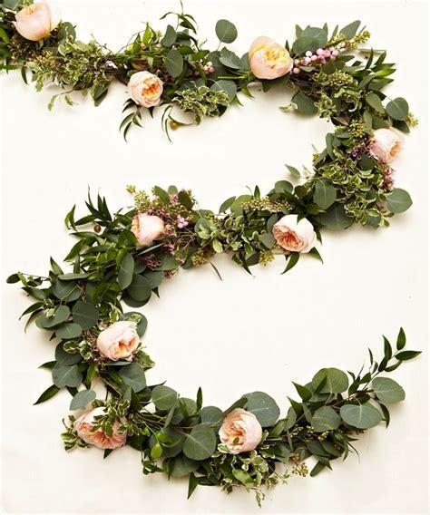 floral garland ideas  pinterest diy flower