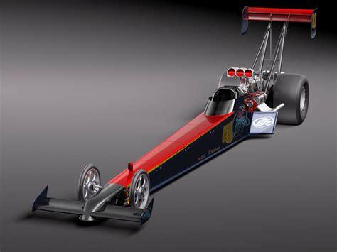 top fuel dragster  model  obj max lwo fbx cd