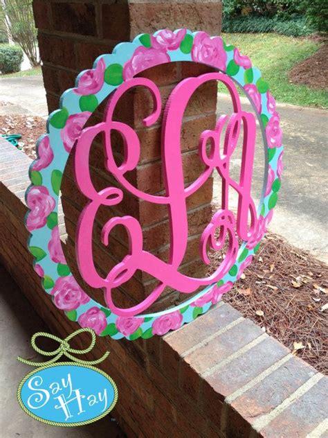pin  sarah  levy  southern flair monogram crafts crafty