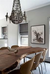 Table Bois Brut : table en bois massif brut 28 tables manger rustiques ~ Teatrodelosmanantiales.com Idées de Décoration