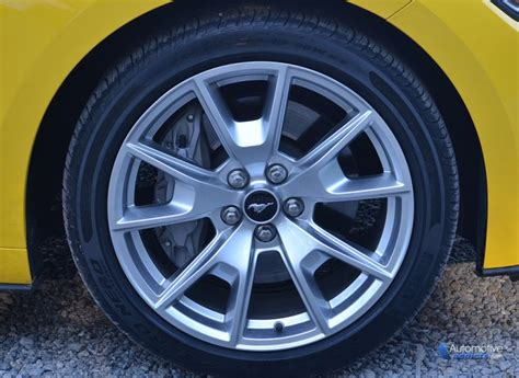 ford mustang gt  anniversary wheel tire