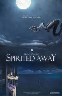 Miyazaki Spirited Away Movie Poster