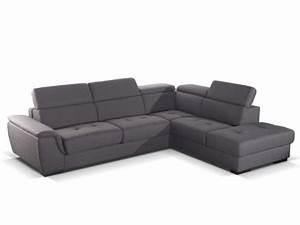 canape angle convertible express tissu anthracite galanta With tapis shaggy avec canape d4angle convertible couchage regulier