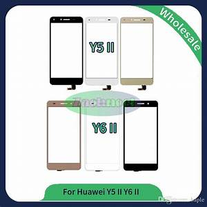 2019 For Huawei Y5 Ii Y6 Ii Touch Screen Glass Lens Panel