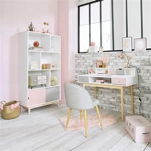 Maison Du Monde Bureau Fille : bureau vintage blanc blush maisons du monde ~ Melissatoandfro.com Idées de Décoration