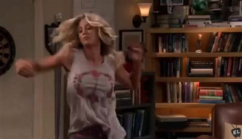 The Big Bang Theory X Penny And Leonard Dancing In Their Underwear Sheldon Moves Out