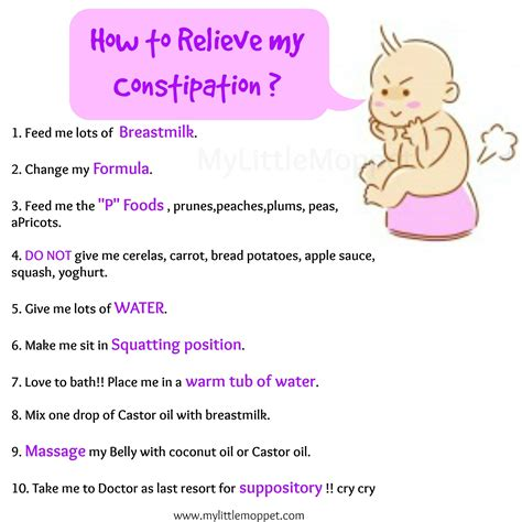 10 Amazing Ways To Relieve Constipation In Babies