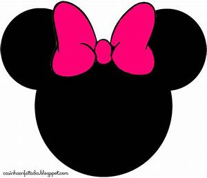 Minnie Mouse Head - Clipartion.com
