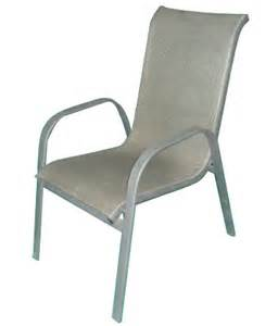 sling back stacking patio chairs modern patio outdoor