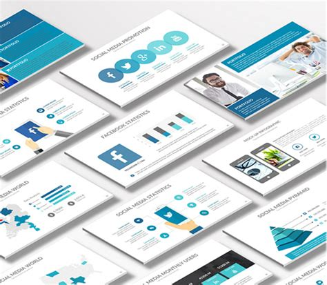 11 Powerpoint Brochure Templates Ginva 2018 11 Ppt 2016 Free Free Social Media