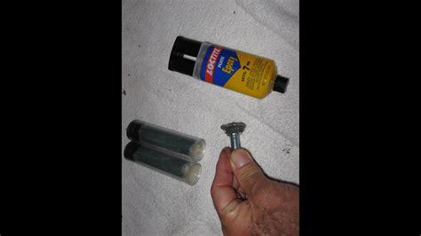 epoxy repair  home automotive metal  froggy youtube