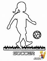 Coloring Soccer Player Spelunker Football Colouring Boys Sport Template Sketch Colour Futbol sketch template