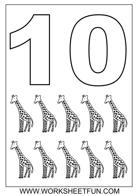 images  numbers   worksheets kindergarten