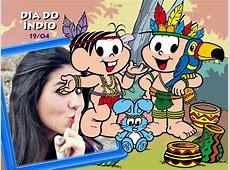 Montagem de fotos Datas Comemorativas Dia do Índio