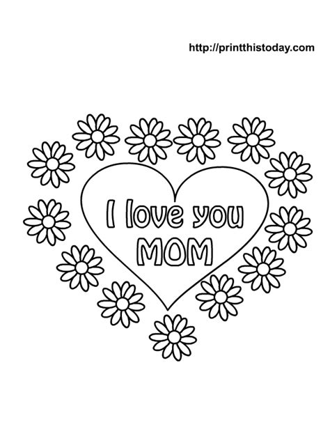 happy birthday mom coloring pages coloring home