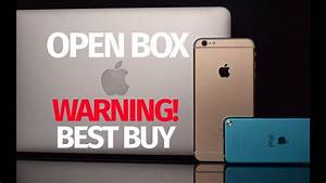 Warning Do Not Buy Open Box Apple Products From Best Buy