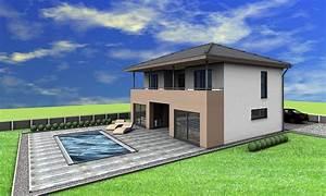 Haus Walmdach Modern : veritashaus veritas haus fertigteilhaus passivhaus ~ Lizthompson.info Haus und Dekorationen