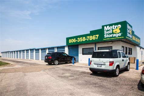 Office Supplies Amarillo by Amarillo Tx Storage Features Metro Self Storage