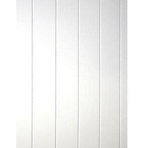 sq ft beadboard white  groove panel