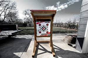 Diy  Build Your Own Backyard Archery Range Or Target Stand