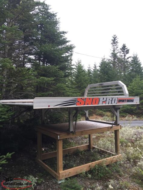 Sno Pro Sled Deck by Sno Pro Sled Deck For Sale Brigus Junction Newfoundland