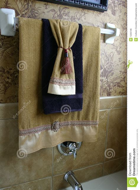 luxury towels royalty  stock image image