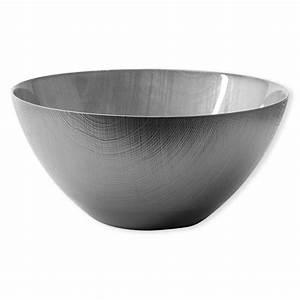 Saladier En Verre : grand saladier astrid color gris vaisselle design bruno evrard ~ Teatrodelosmanantiales.com Idées de Décoration