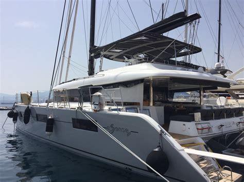 Catamaran Hire Amalfi Coast by New Lagoon 620 Crew Catamaran For Rent Salerno Italy