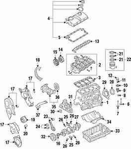 2013 Volkswagen Golf Engine Valve Cover  Liter  Diesel