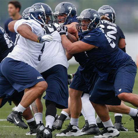 full training camp roster breakdown  seattle seahawks