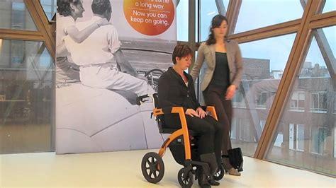 chaise de transfert déambulateur et chaise de transfert rollz aidealautonomie