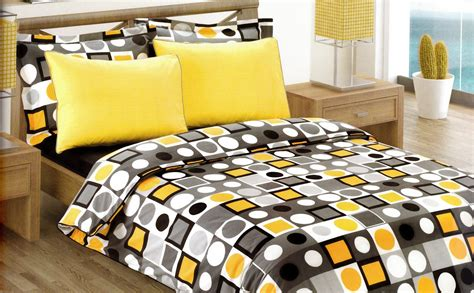what size is a duvet insert modern geometric dot print bedding set in yellow by