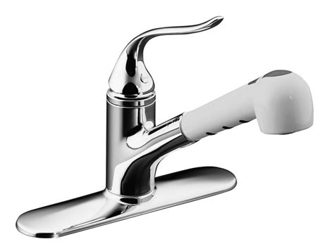 Kohler Coralais Single-control Pullout Spray Kitchen Sink