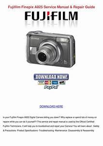 Fujifilm Finepix A825 Service Manual Repair G By Nelida