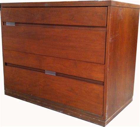 2 drawer lateral wood file cabinet w lock we buy and
