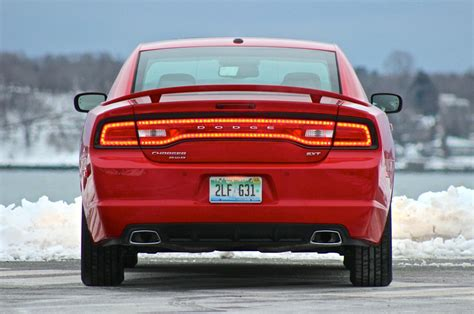 rear    dodge charger exterior