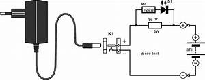 How To Build Nicd Battery Charger Circuit Diagram