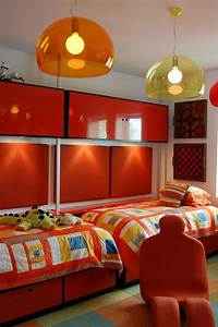 9, Year, Old, Boys, Custom, Bedroom, Design, Including, Modular, Storage, Units, U0026, Beds, Color, Selected, By