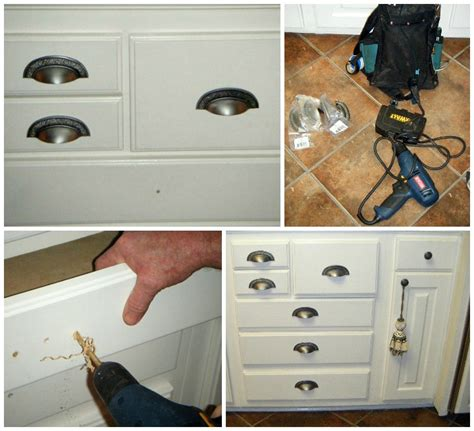 Kitchen Cabinet Drawer Knob Placement by Updating Cabinet Hardware Places In The Home