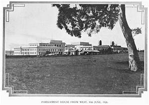 As It Was In The Beginning  Parliament House In 1927