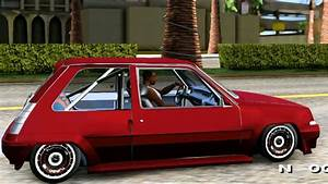 Renault 5 Gt Turbo Beta - Gta Mod  Review