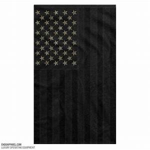 Endo All Black American Flag w/ Multicam stars   The ...