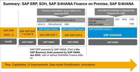 sap hana sap shana suite  hana soh simple finance